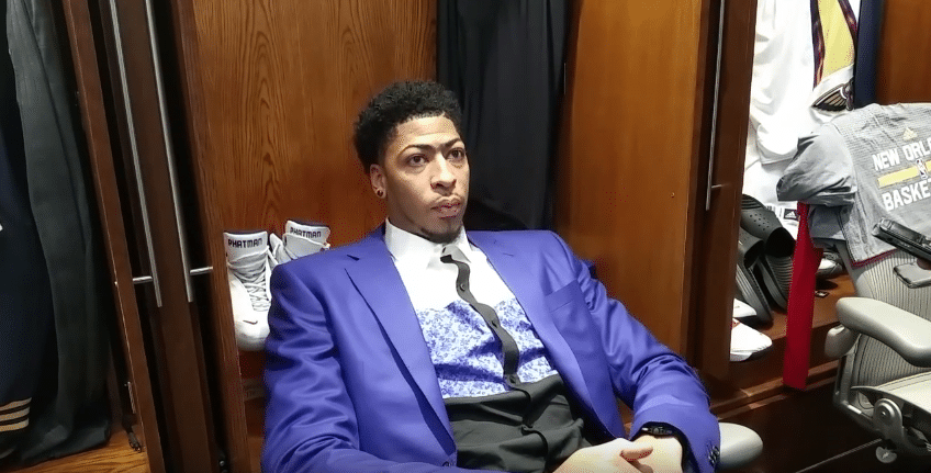 Anthony Davis (New Orleans Pelicans) Press Interview