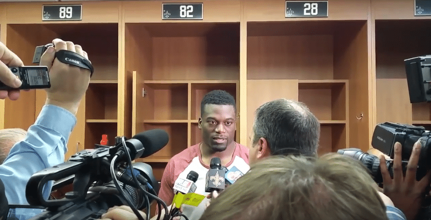 Ben Watson Speaking To The Media