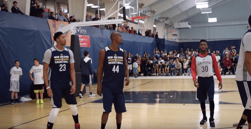 New Orleans Pelicans Training Camp (Warmups)