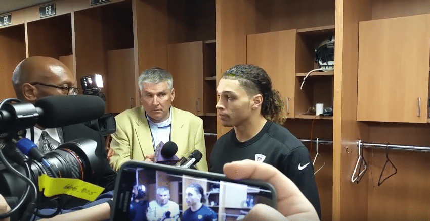 Willie Snead Press Interview