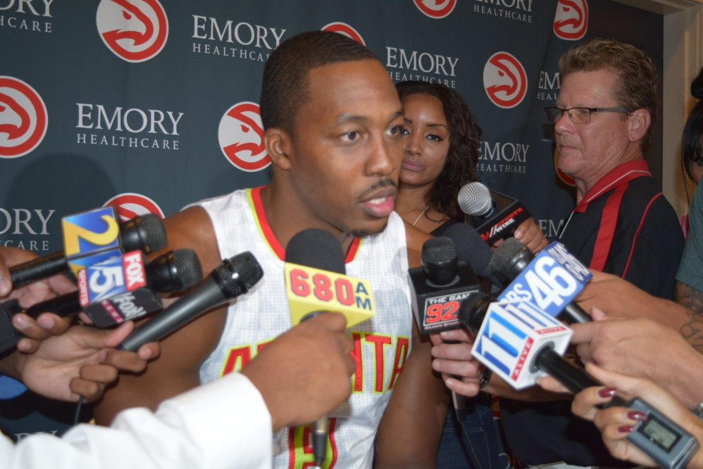 Dwight Howard Clip From Atlanta Hawks Media Day