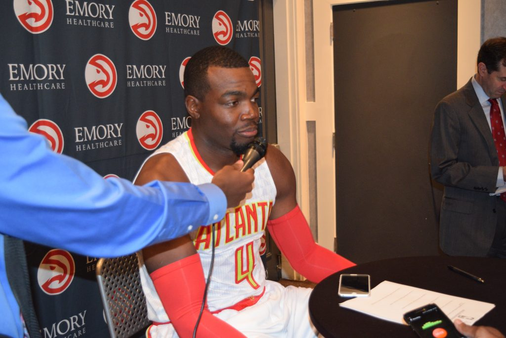 Paul Millsap Clip From Atlanta Hawks Media Day